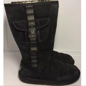 long black ugg boots